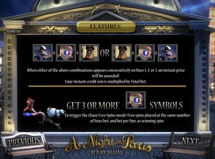 A Night in Paris Jackpot screenshot