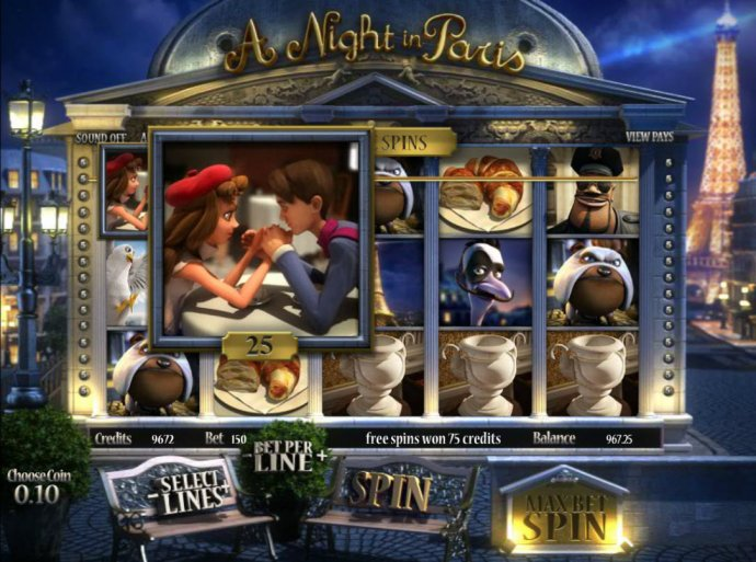 Images of A Night in Paris Jackpot