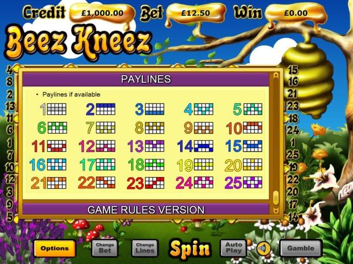 No Deposit Casino Guide image of Beez Kneez