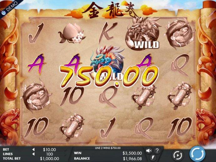 Dragon's Scroll by No Deposit Casino Guide