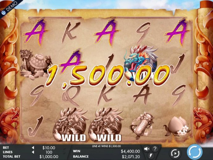 A 4,400,00 big win triggered by multiple winning combinations. - No Deposit Casino Guide