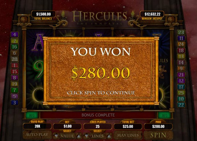 Hercules the Immortal by No Deposit Casino Guide