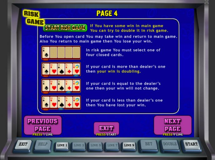 Gamble Feature Rules - No Deposit Casino Guide
