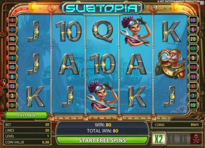 free spins feature game board by No Deposit Casino Guide