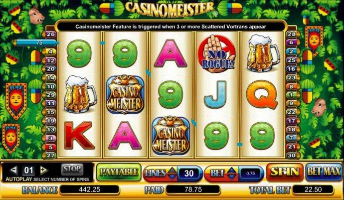 No Deposit Casino Guide image of Casinomeister