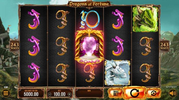 Dragons of Fortune screenshot