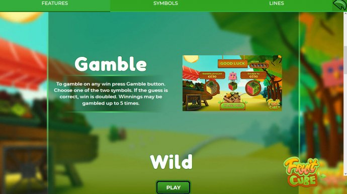 Gamble Feature Rules - No Deposit Casino Guide