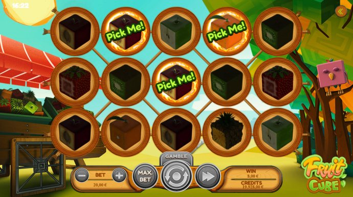 No Deposit Casino Guide image of Fruit Cube