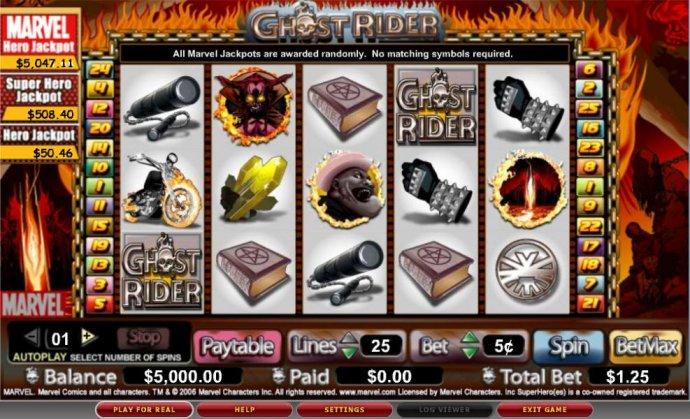 No Deposit Casino Guide image of Ghost Rider