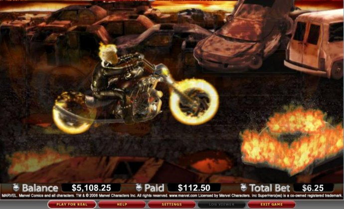 Ghost Rider by No Deposit Casino Guide