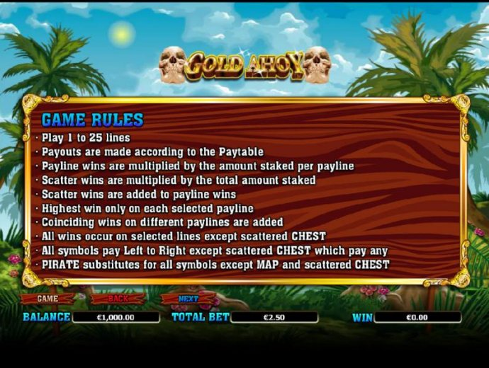 Gold Ahoy by No Deposit Casino Guide