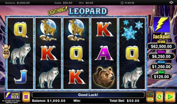 Lightning Leopard by No Deposit Casino Guide