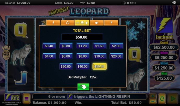 Lightning Leopard by No Deposit Casino Guide