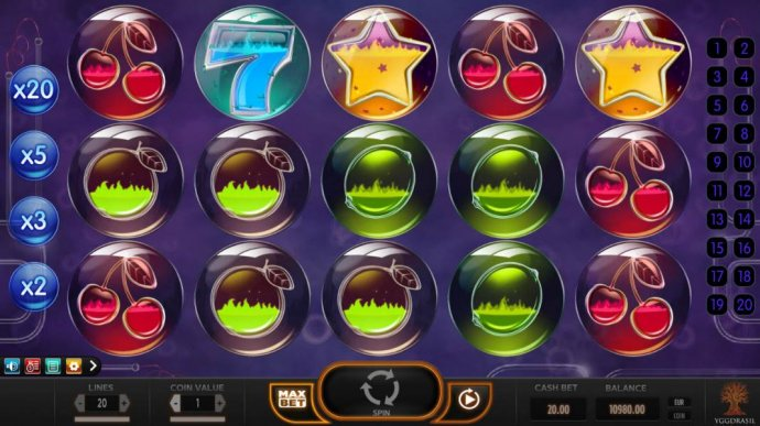 winning payline symbols will begin to boil and change color - No Deposit Casino Guide