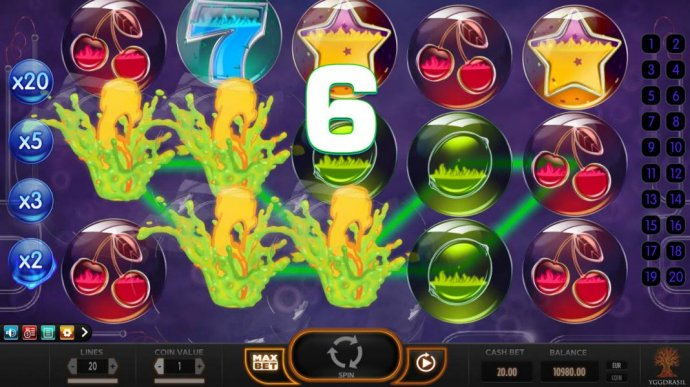 Winning symbols explode leaving room for new symbols to drop in place. - No Deposit Casino Guide