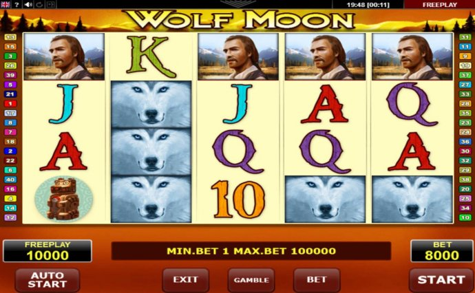 Wolf Moon by No Deposit Casino Guide