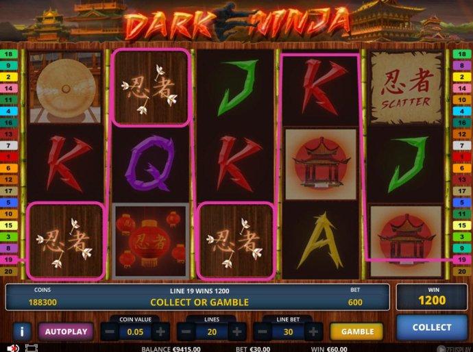Dark Ninja screenshot