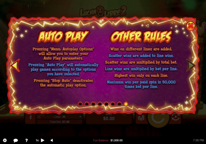 No Deposit Casino Guide image of Lucha Libre 2