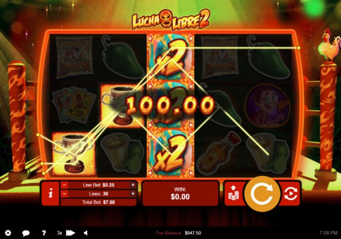 Lucha Libre 2 by No Deposit Casino Guide