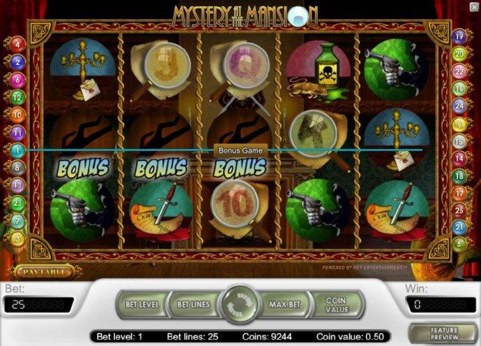 No Deposit Casino Guide - bonus feature triggered