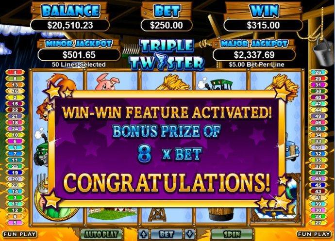 Triple Twister by No Deposit Casino Guide
