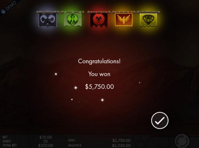 Fight Feaure awards player a 5,750.00 super cash prize amount. by No Deposit Casino Guide