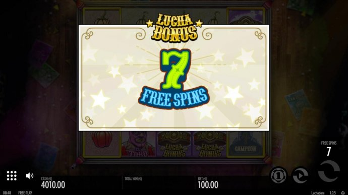 No Deposit Casino Guide - 7 free spins awarded.