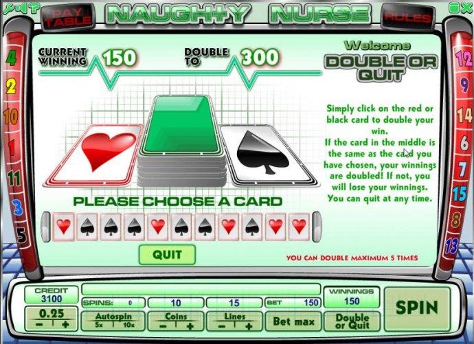 Naughty Nurse by No Deposit Casino Guide