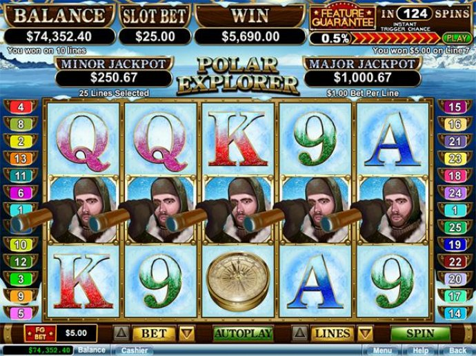 polar explorer by No Deposit Casino Guide