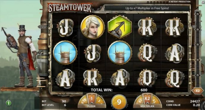 Steam Tower by No Deposit Casino Guide