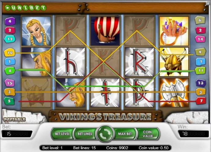 Viking's Treasure screenshot