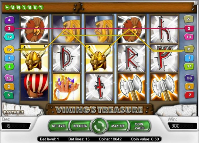 No Deposit Casino Guide image of Viking's Treasure