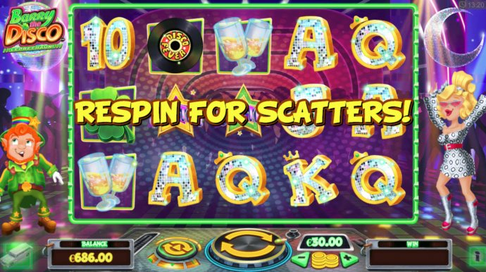 No Deposit Casino Guide - Respin feature triggered