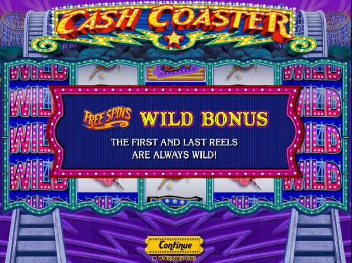 Free Spins Wild Bonus - The first and last reels are always wild. - No Deposit Casino Guide