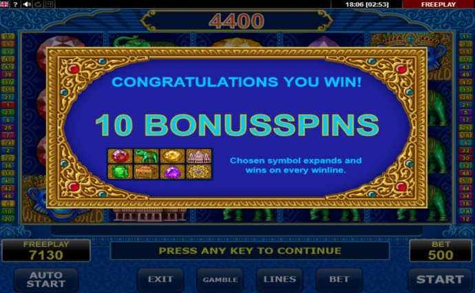 No Deposit Casino Guide - 10 Free Spins Awarded