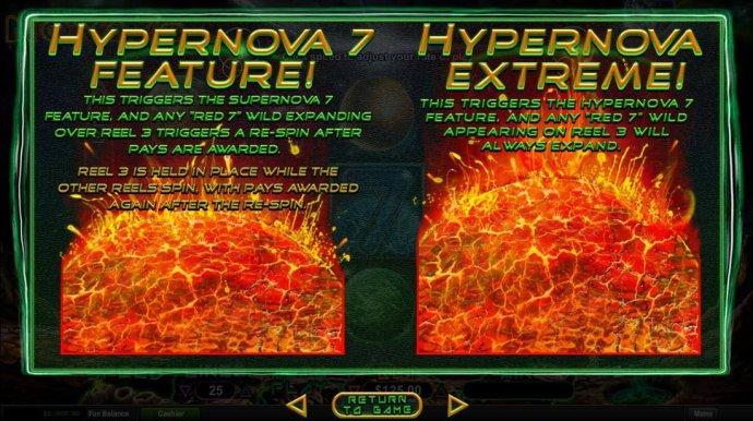 No Deposit Casino Guide image of Nova 7's