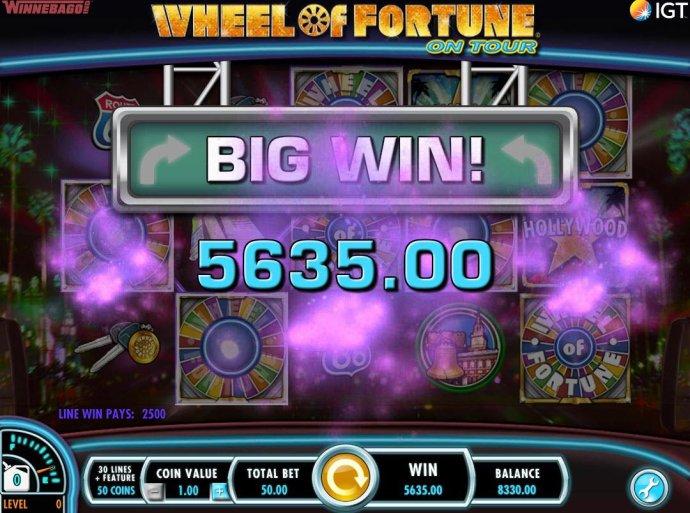 Wheel of Fortune on Tour screenshot