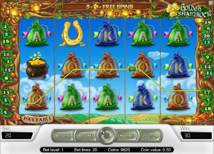 Golden Shamrock screenshot