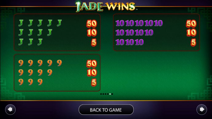 Jade Wins screenshot