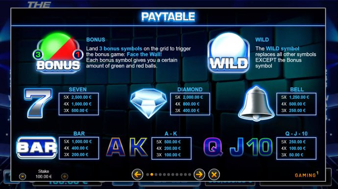 The Wall by No Deposit Casino Guide