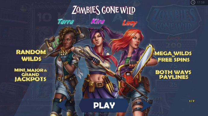 Zombies Gone Wild by No Deposit Casino Guide