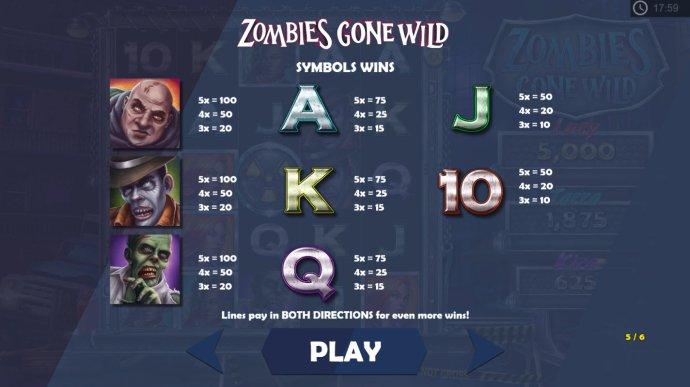 Zombies Gone Wild screenshot