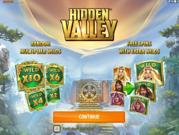 No Deposit Casino Guide - features include Random Multiplier Wilds and Free Spins With Extra Wilds.