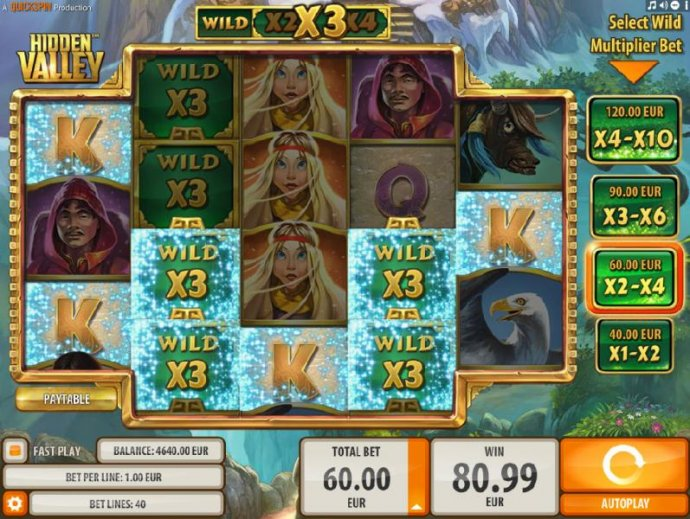 Hidden Valley by No Deposit Casino Guide