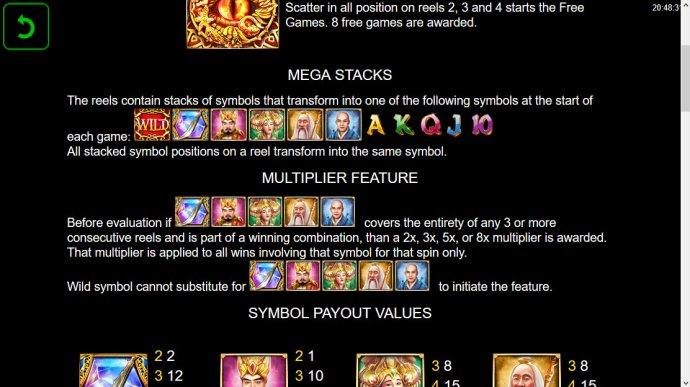 No Deposit Casino Guide image of Power of Gods