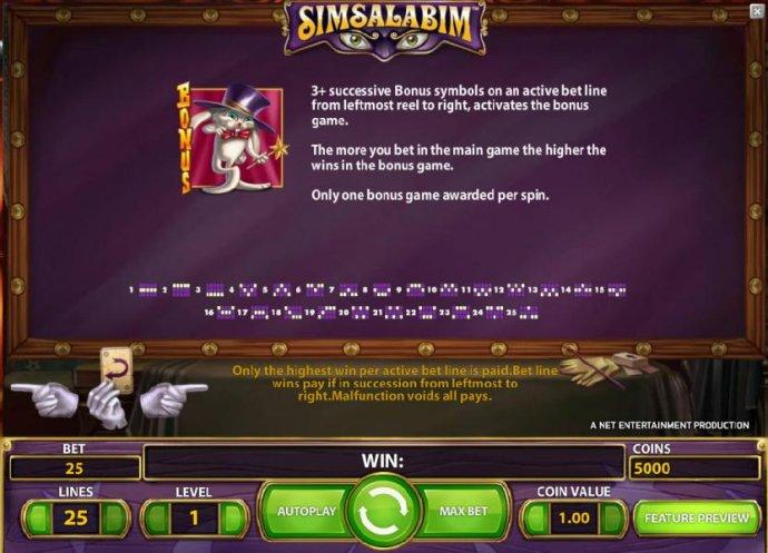 Simsalabim screenshot