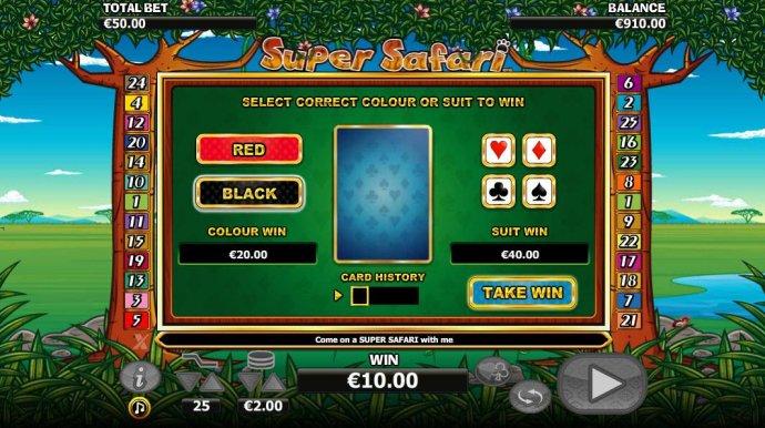 Super Safari screenshot