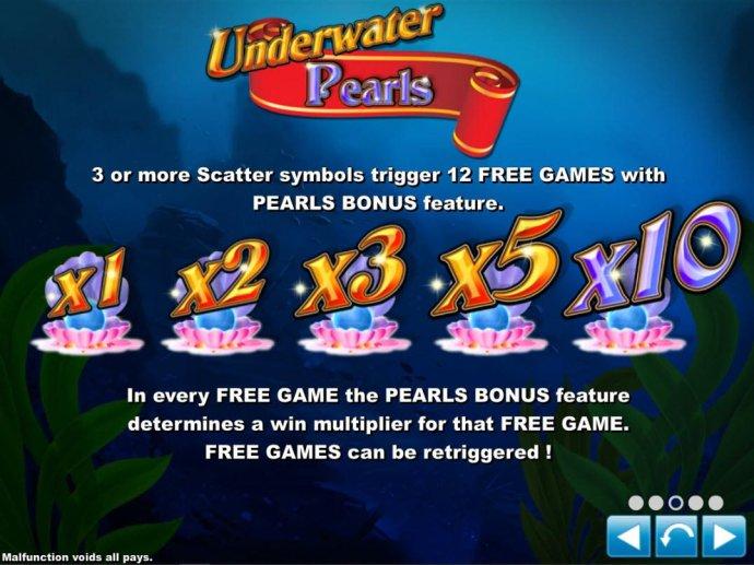 Underwater Pearls screenshot