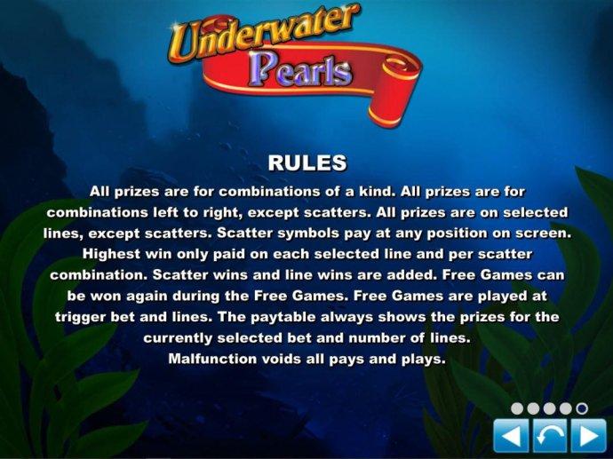 Underwater Pearls by No Deposit Casino Guide