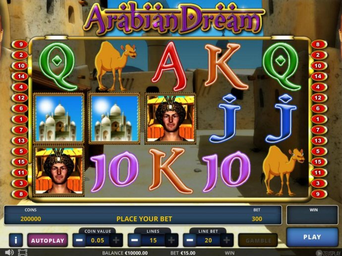 Images of Arabian Dream